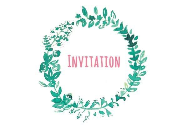 Invitation-recto